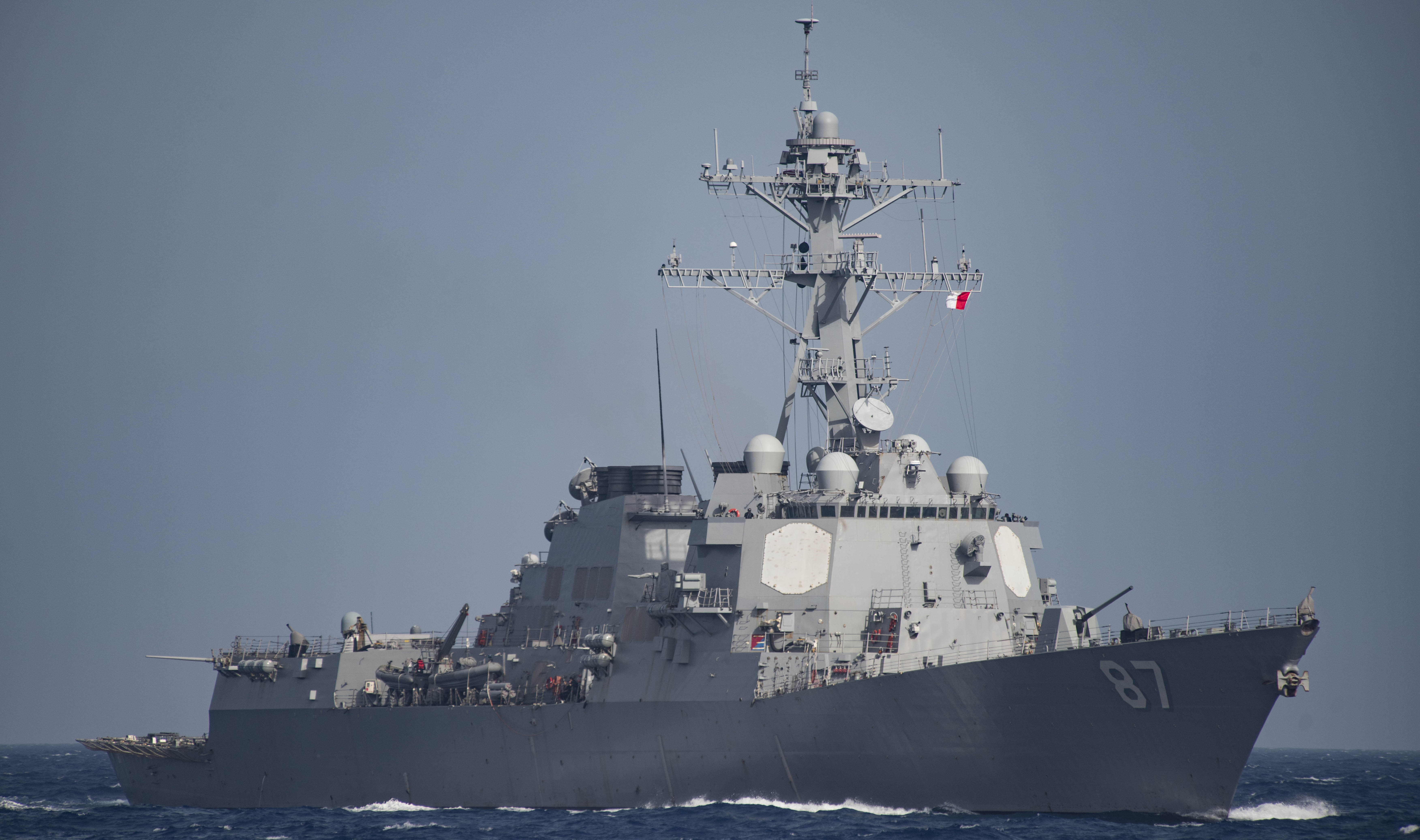 The Arleigh Burke Class guided-missile destroyer USS Mason (DDG-87) on June 24, 2016. US Navy Photo