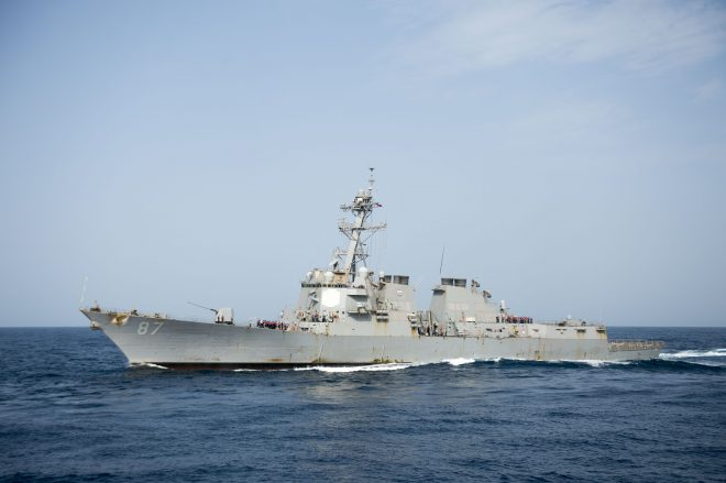 Destroyer USS Mason Unsuccessfully Attacked From Yemen