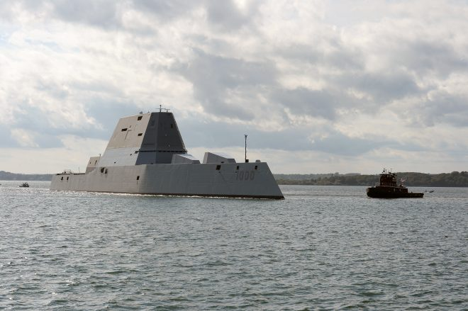 Repaired Zumwalt Leaves Early for Baltimore Commissioning