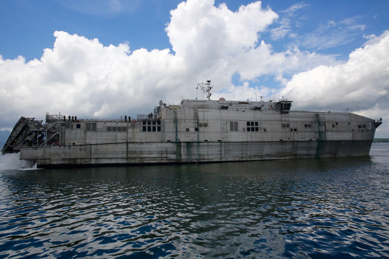 USNS Millinocket (T-ESD-3) on Oct. 1, 2016. US Navy Photo