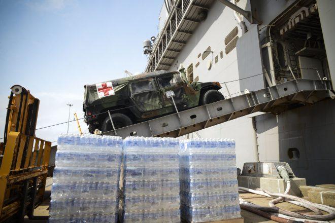 Mesa Verde, Navy P-8 Arrive in Haiti To Support Relief Effort; Iwo Jima To Arrive This Week