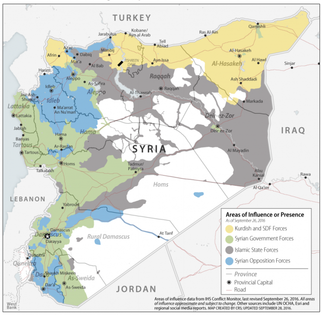 Document: Report to Congress on Armed Conflict in Syria