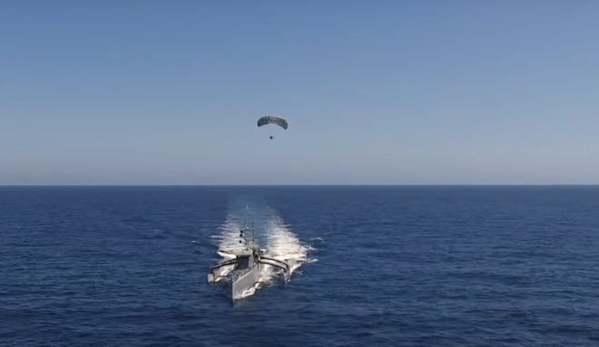 Video: DARPA Sea Hunter Parasail Tests