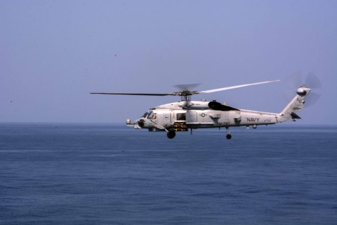 Iranian Patrol Boat Trained Weapon on U.S. Helo During Carrier Transit