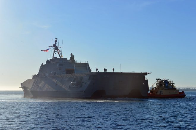 LCS USS Montgomery Arrives in San Diego After Delays