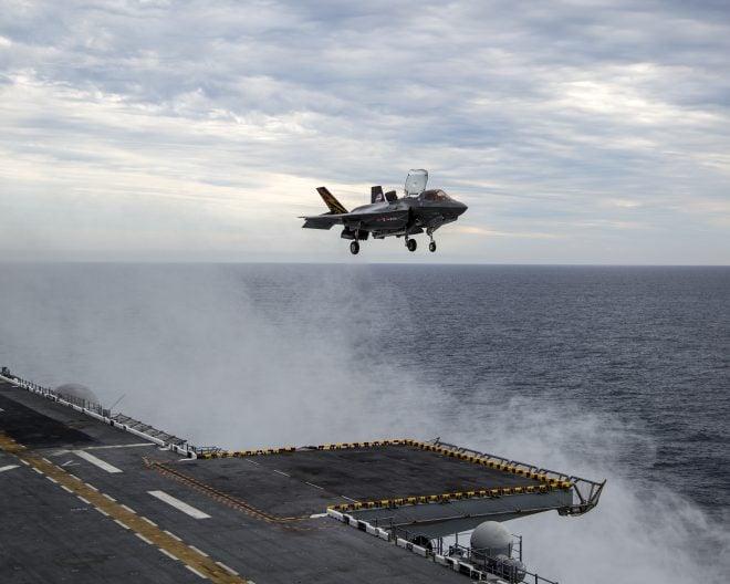 Marines Refining F-35B Operations, Maintenance At Sea During Final Developmental Test