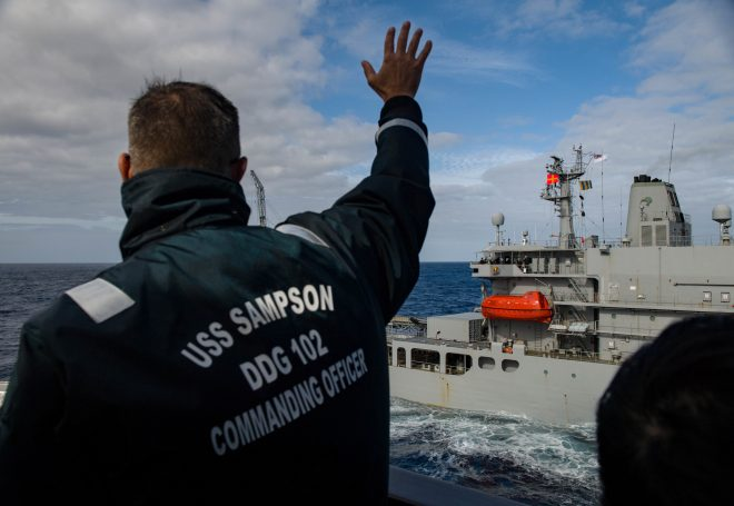 U.S. Navy Destroyer, P-3 Responding To Earthquake In New Zealand