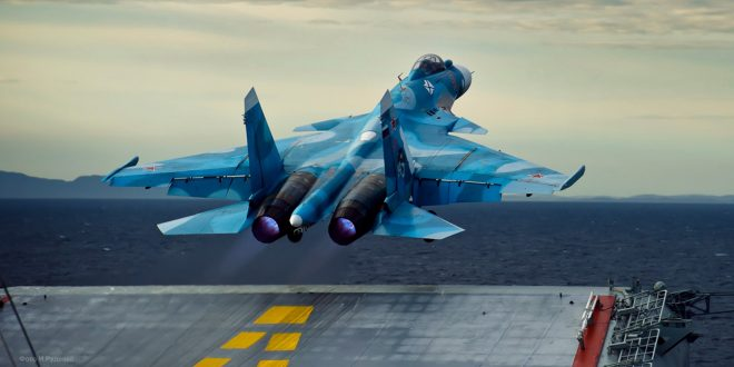 Second Russian Carrier-based Fighter Crashes, Pilot Safe