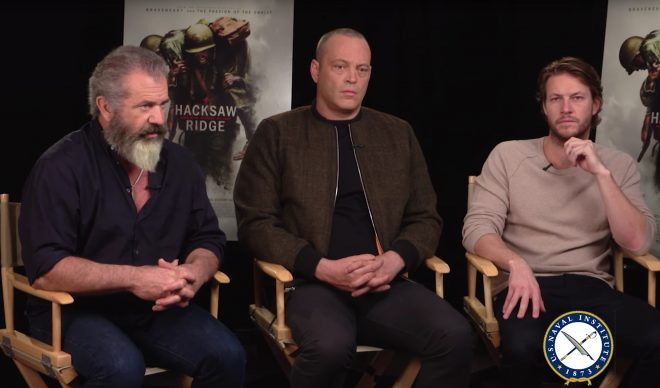 USNI News Interview: Mel Gibson, Vince Vaughn Talk New Battle of Okinawa Movie 'Hacksaw Ridge'