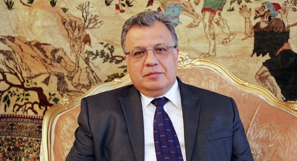 Russian Ambassador to Turkey Andrei Karlov