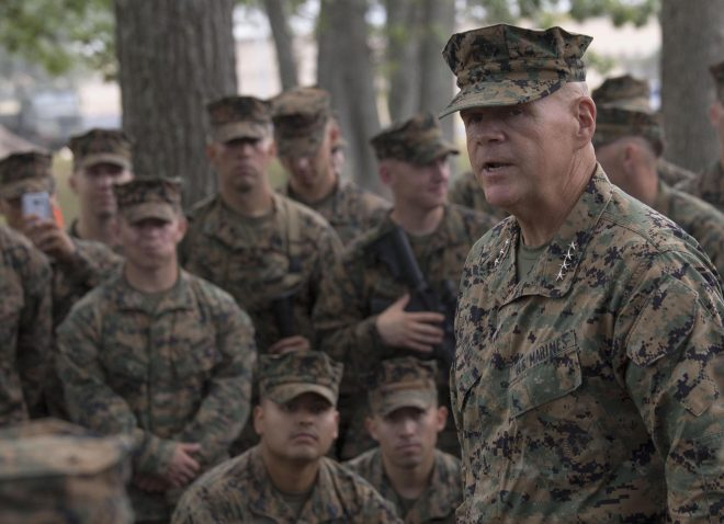 CMC Neller Wants More Cyber, Intel and Electronic Warfare Marines