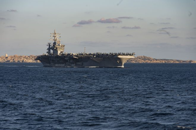 Updated: Trio of Curious French Police Officers Accidentally Ship Out on USS Dwight D. Eisenhower