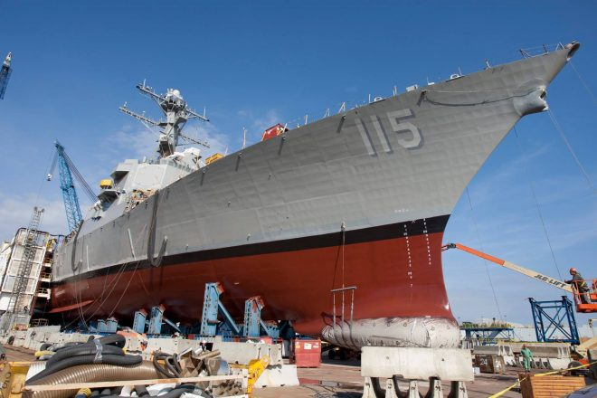 BIW Restart Destroyer Rafael Peralta Completes Acceptance Trials