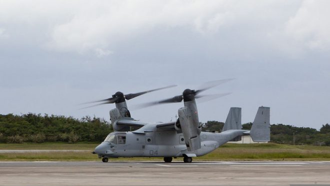 1st MAW Marines Resume MV-22 Operations After Crash