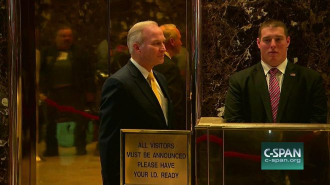 Randy Forbes Seen at Trump Tower; Joe Courtney Endorses Forbes for SECNAV