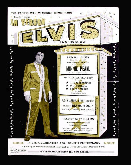 How Elvis Helped Save the USS Arizona Memorial