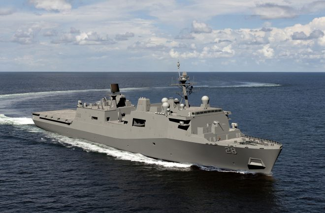 Navy Awards Ingalls $1.46B for Final San Antonio-class Hull Construction