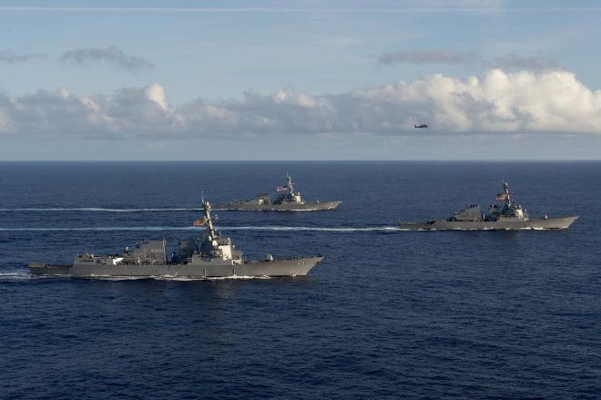 Next PAC SAG May Be Multinational; Vinson Strike Group To Continue '3rd Fleet Forward' Ops
