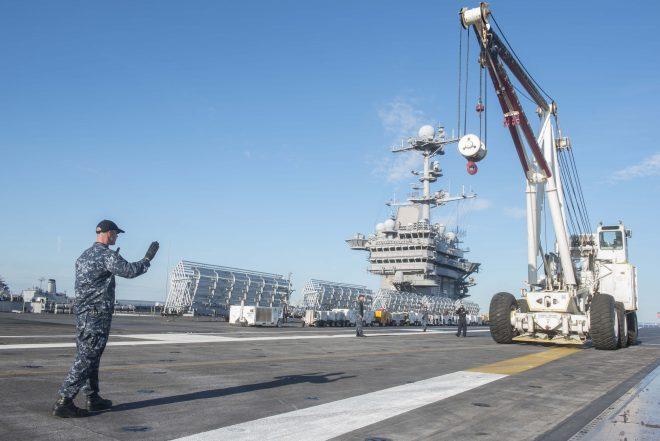 USS Harry S. Truman Maintenance On Track Despite Previous Avail Being Cut Short