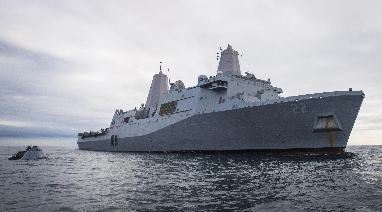 USS San Diego (LPD-22) in Oct. 30, 2016. US Navy Photo