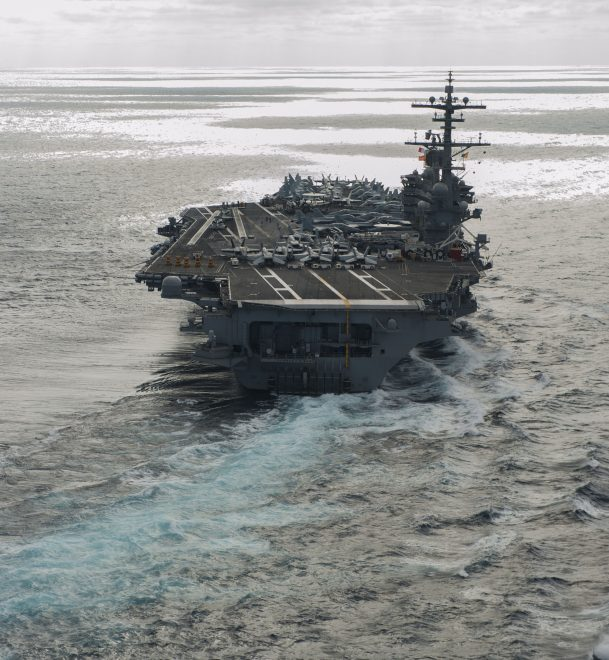 George H.W. Bush Strike Group Leaves for Europe, Middle East on Saturday