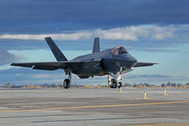 First F-35Cs for West Coast FRS to arrive next week at Lemoore