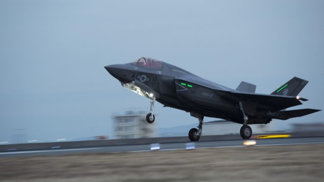 Video: First F-35Bs Arrive in Japan