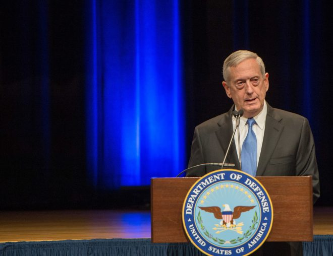 Video: SECDEF James Mattis First Public Address to the Pentagon