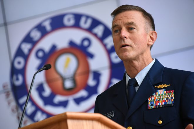Coast Guard Commandant Will Stress Maritime Security to Trump Administration