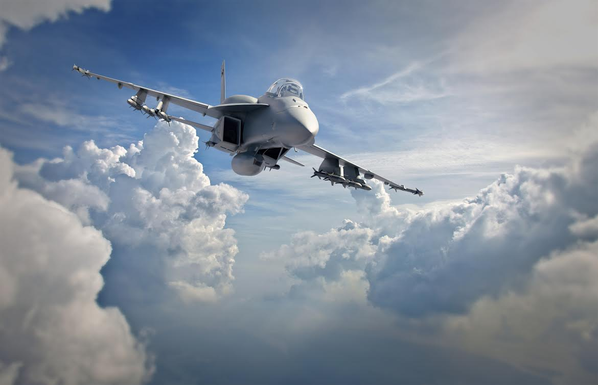 An artist's concept of a F/A-18 E Advanced Super Hornet. Boeing Image