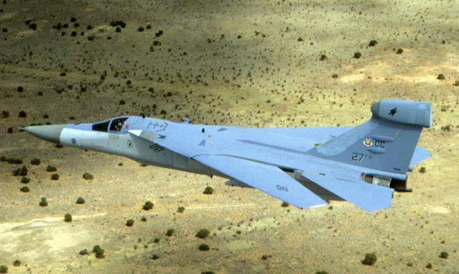 US Air Force EF-111 Raven. US Air Force Photo