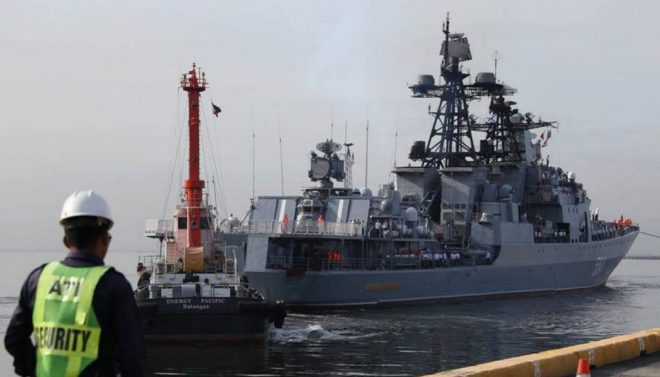 Russia Wants to Sell Arms to the Philippines, Hold Joint Naval Drills