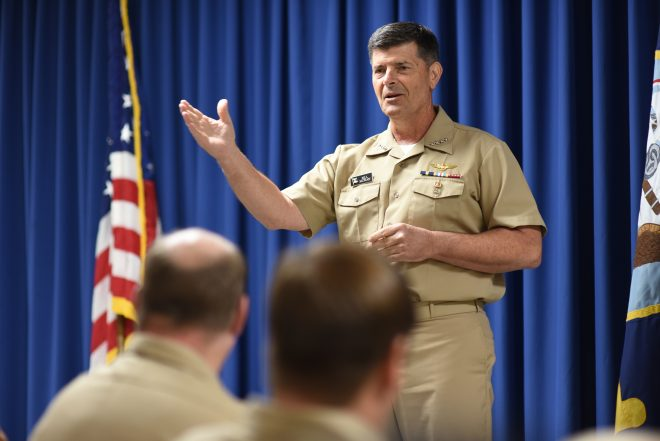 DoD Inspector General Report of Investigation on Adm. Bill Moran