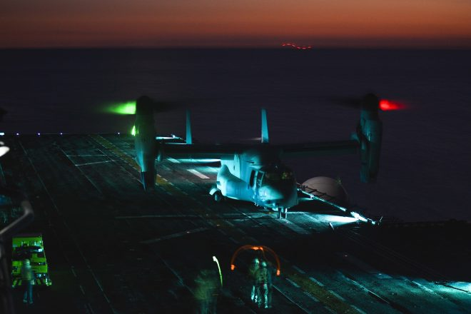 Marines Seek to Arm MV-22 Osprey, Improve Harvest Hawk System
