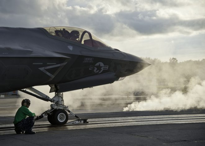 Navy to Test Fix for F-35C Catapult Problem Next Week