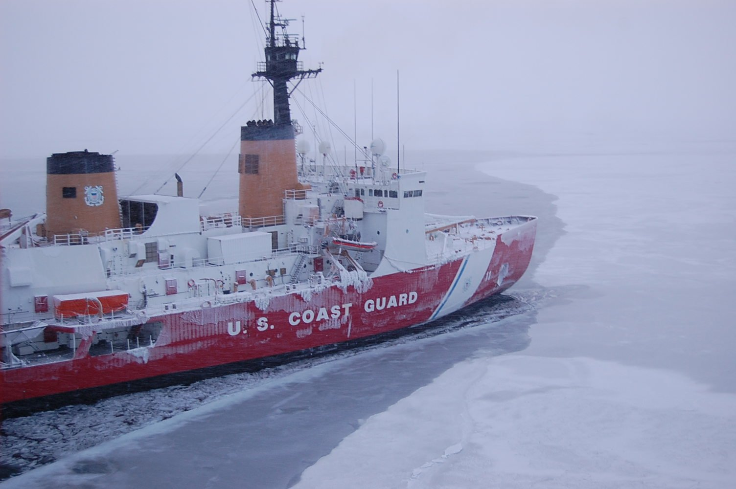 USCGC Polar Sea (WAGB-11). US Coast Guard Photo