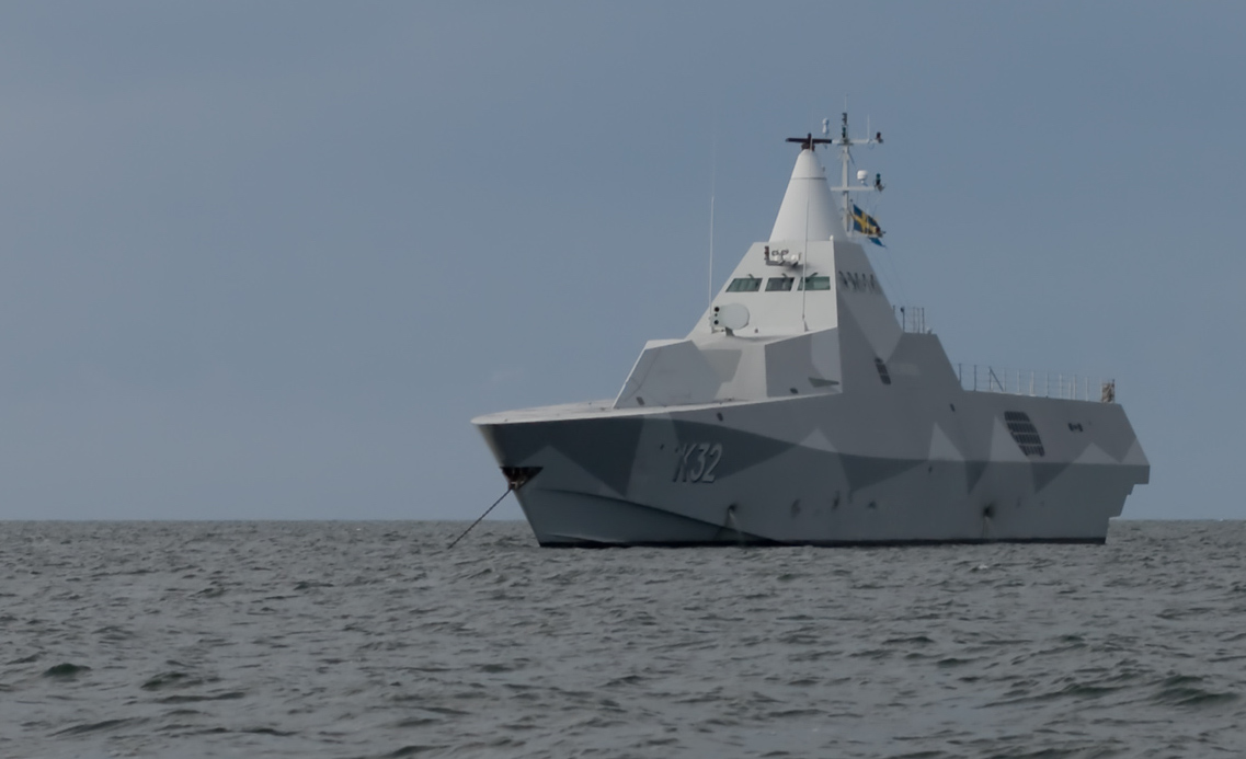 A Swedish Navy Visby-class. The CSBA fleet architecture calls for the Navy to create its own class of guided missile corvettes. Swedish Navy Photo
