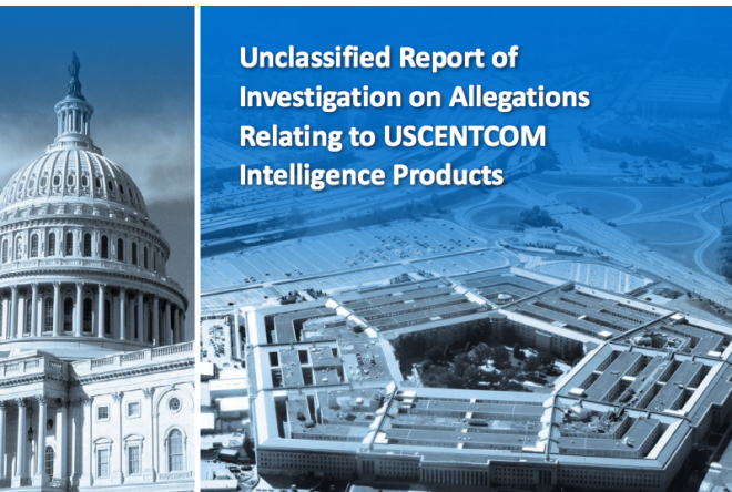 Document: Inspector Generals Report on USCENTCOM Intelligence Products