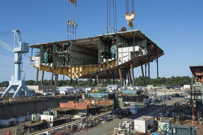 New Pentagon Report Points to Problems in the U.S. Shipbuilding Industrial Base