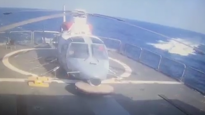 Video Shows Houthi Boat Attack on Saudi Frigate