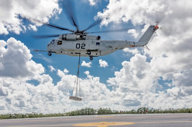 Marines' CH-53K Heavy Lift Helicopter Approved To Enter Production