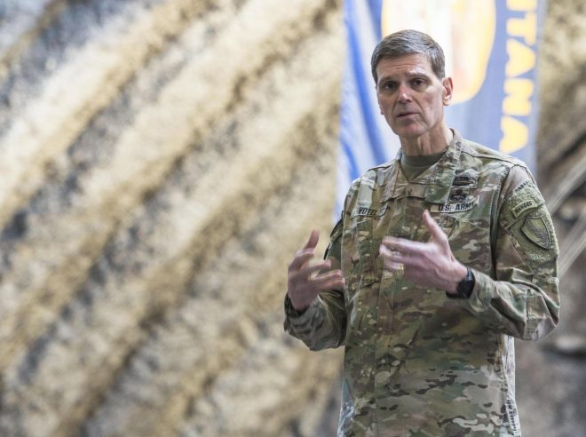 Votel: U.S. Urging Pakistan to Help Bring Taliban to Negotiating Table