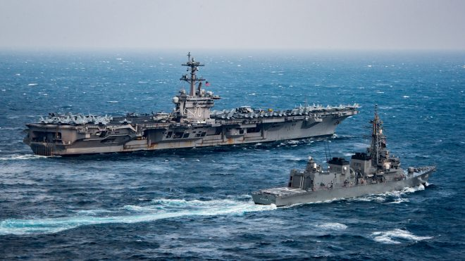 Carrier USS Carl Vinson to Arrive in South Korea Today