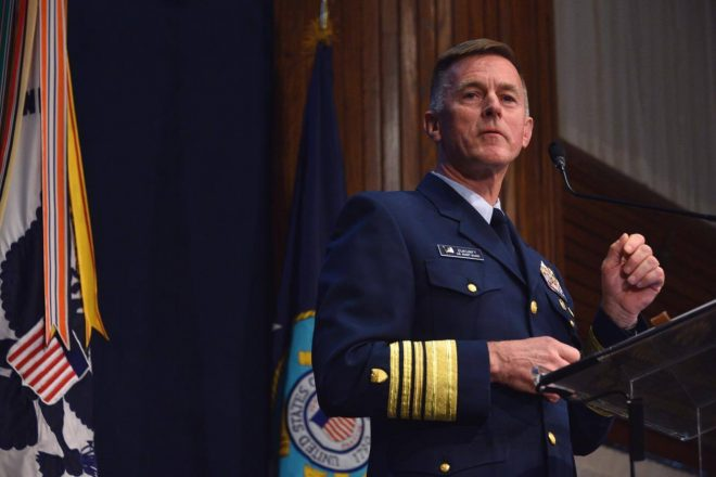Coast Guard Commandant Zukunft Will Advocate for Funding Beyond Sequestration Caps