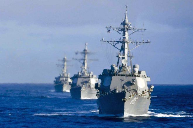 Navy Begins High-End Exercise With Japan, HADR Drill With Vietnam, Sri Lanka, Malaysia