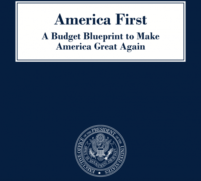 Document: White House's Fiscal Year 2018 Budget Blueprint