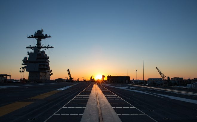 NAVSEA: Carrier Gerald R. Ford Set to Start Sea Trials this Week