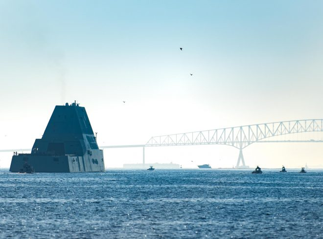 Navy has Found Fix for USS Zumwalt Engineering Problem