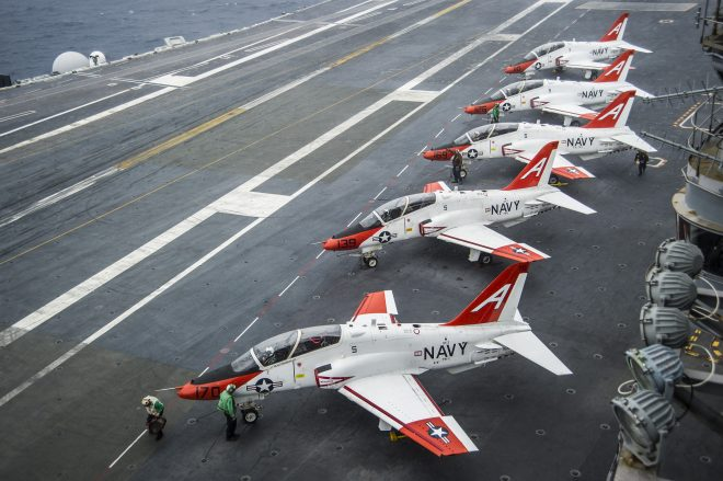Congress Frustrated at Progress of Fighter Physiological Episode Investigations While Navy Back to Full Pilot Production After T-45C Fixes
