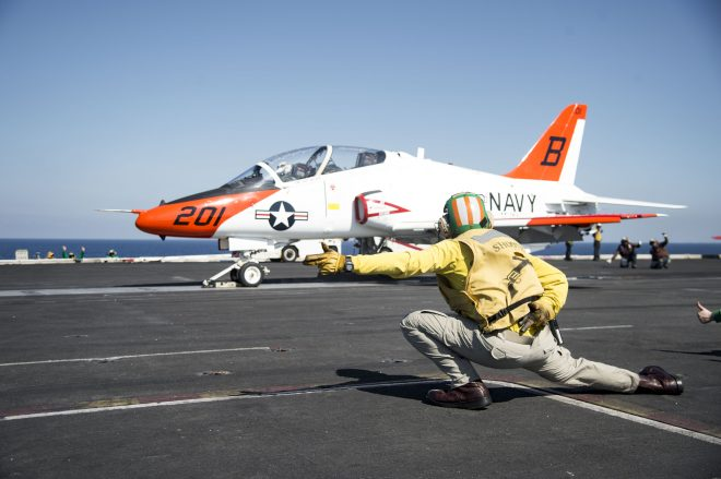 Navy Directs 30-Day Review of F-18, T-45 Physiological Episodes